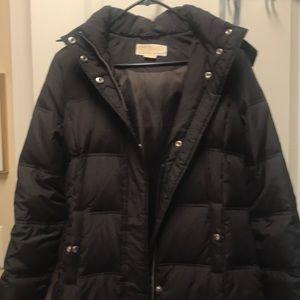 Michael Kors puffer chocolate coat size S